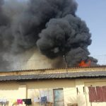 Fire guts crowded Cameroon prison in Douala