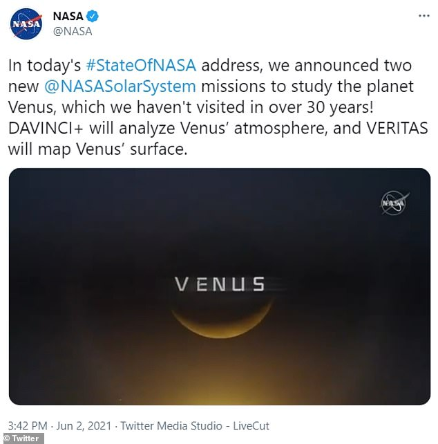 NASA Heading To Venus For First Time In 30 Years (Photos)